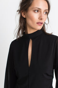 Nolana black blouse
