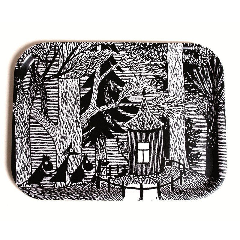 Tray 36x28 Cottege in the Wood Moomin