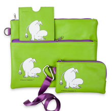 Load image into Gallery viewer, 50% Moomin Green telephone pouch