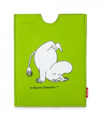 50% OFF  Moomin Green passport holder