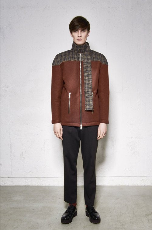 50% OFF Split Jacket,  Rust with print detail by F.A.S Sweden