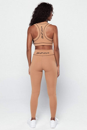 Core Legging - Caramel