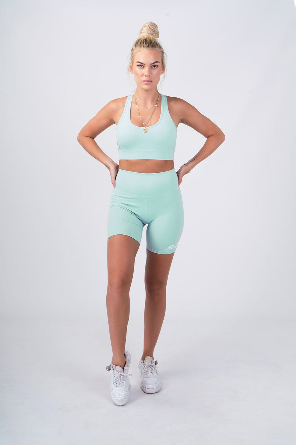 The Level Shorts (Muted Mint Green)