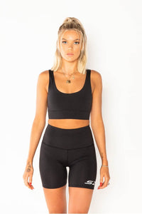 The Level Crop (Black)