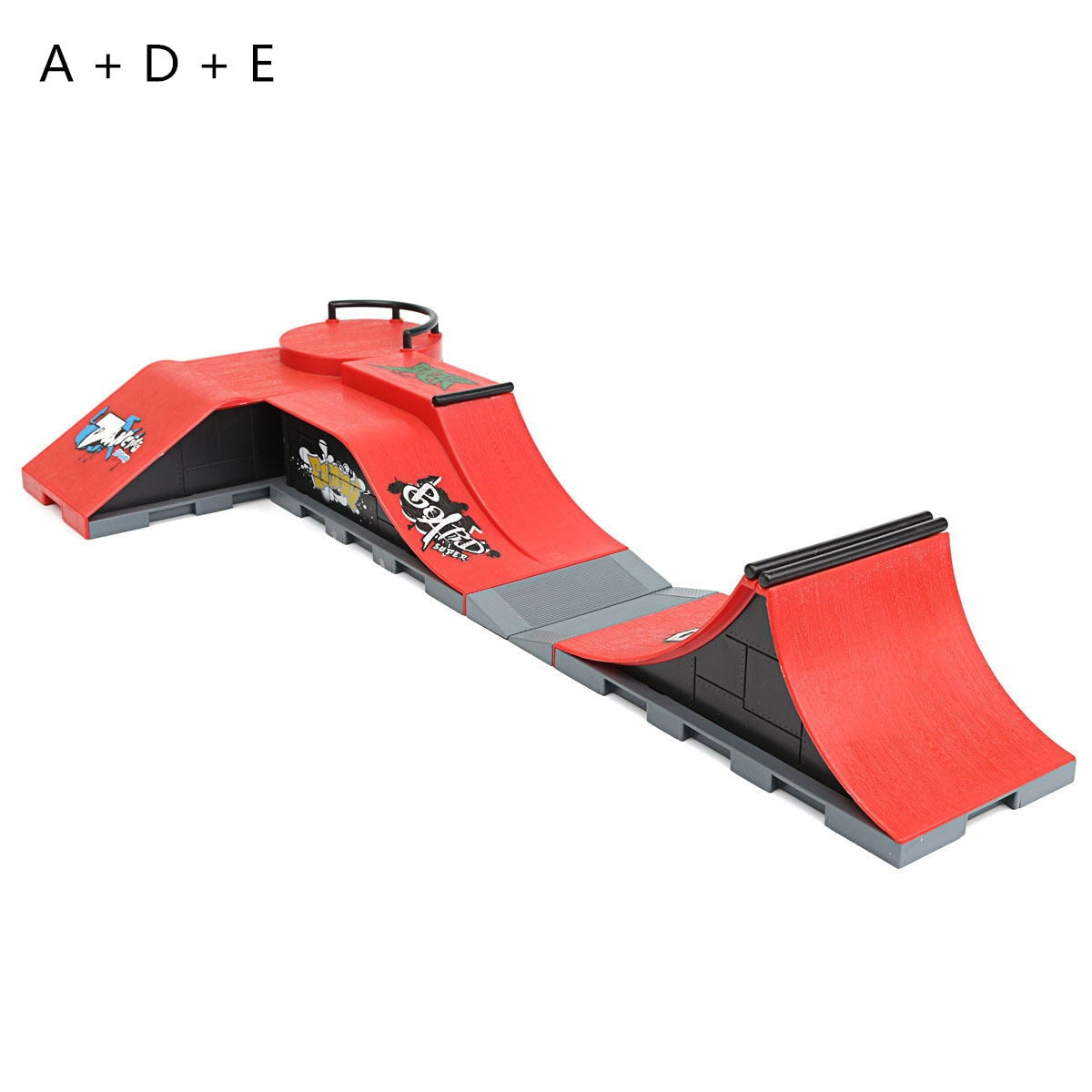 e8c99bba5f84 Fingerboard DIY A-F Site Skate Park Ramp Parts For Ultimate Parks Boys  Games Adult Novelty Items