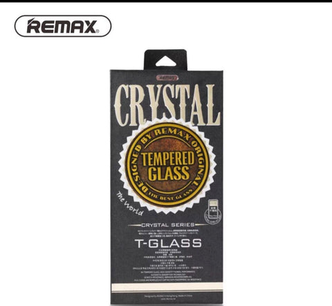 REMAX Crystal Tempered Glass iPhone X Screen Protector
