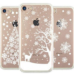 Snow Theme Christmas Phone Case