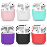 Shockproof For AirPods Case Earphone Case TPU Silicone Bluetooth Wireless Headphone Protector Cover for Apple Airpods Case Cover