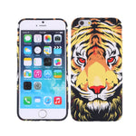 Slim Fit Soft TPU Tiger Print Case