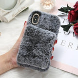 FLOVEME Soft Fur Case