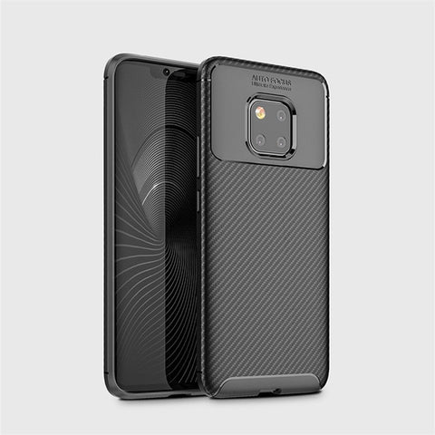 Carbon Fiber Case For Huawei Mate 20 Pro Case High Quality Diamond Grid Design Cover For Huawei Mate 20Pro LYA-AL00 LYA-L29 Case