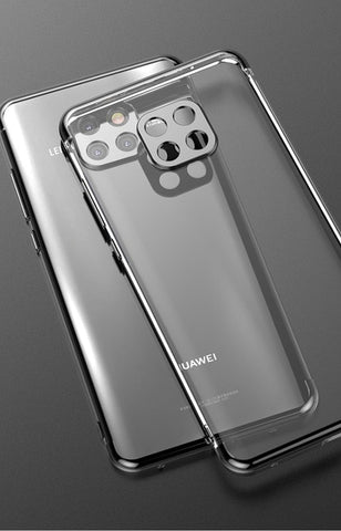 huawei mate 20 pro case luxury plating soft TPU back cover fundas huawei mate 20 coque capas