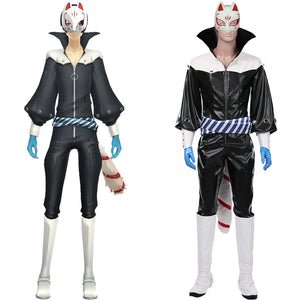 Persona 5 Halloween Carnival Suit Yusuke Kitagawa Cosplay Costume Jumpsuit Outfits