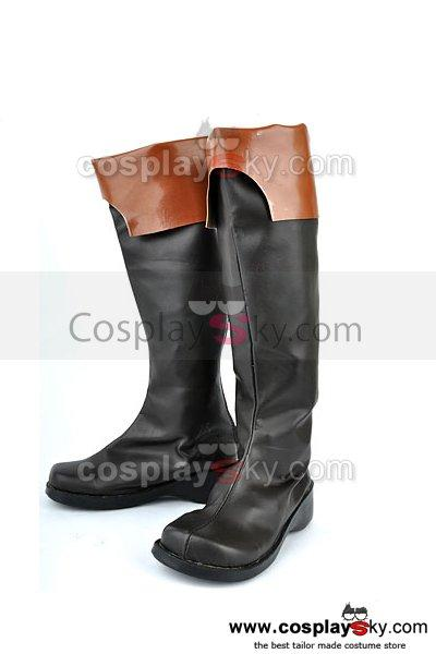 07-GHOST Teito Klein Cosplay Boots Shoes
