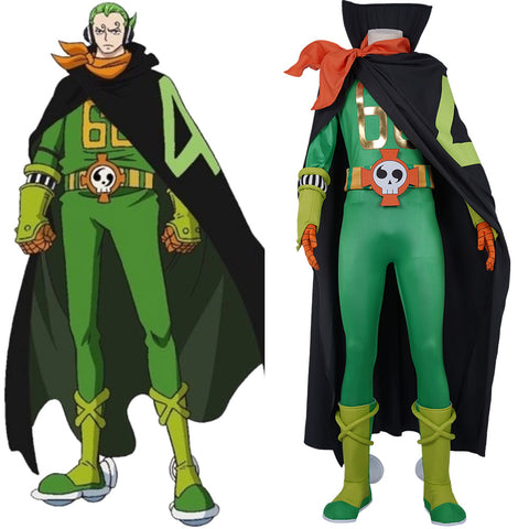 ONE PIECE VinsmokeFamily Combat Suit Vinsmoke Yonji Halloween Carnival Outfit Cosplay Costume