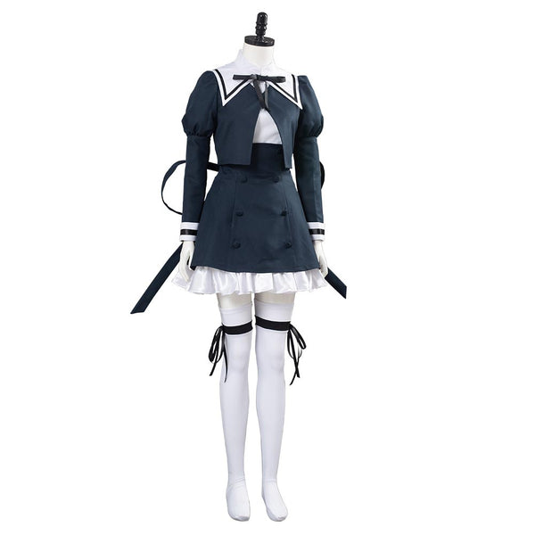 Assault Lily BOUQUET Cosplay Costume School Uniform Dress Outfit Halloween Carnival Costume