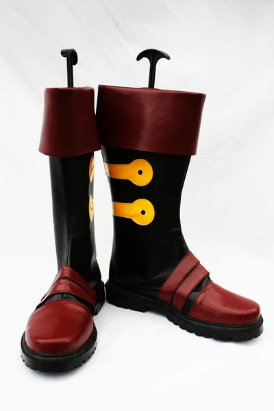 Gurren Lagann Simon Cosplay Boots Shoes Custom Made