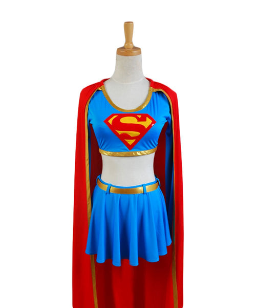 DC Comics Supergirl Cosplay Costume Separated version