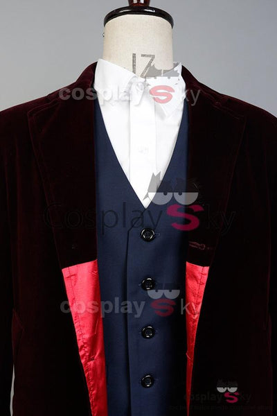 Doctor Who 12th Doctor Peter Capaldi Cosplay Costume Whole Set