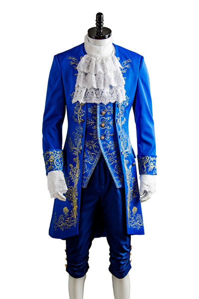 Beauty and the Beast Prince Adam Suit Cosplay Costume Adults Halloween Outfit