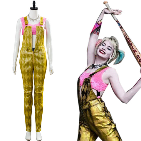 Birds of Prey Harley Quinn And the Fantabulous Emancipation of One Harley Quinn Outfit Cosplay Costume