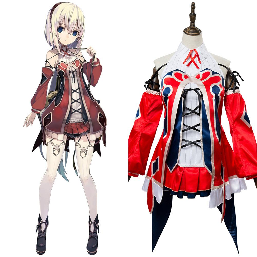 Grimms Notes Reina dress Outfit Cosplay Costume