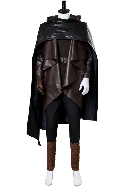Star Wars 8 The Last Jedi Luke Skywalker Outfit Cosplay Costume