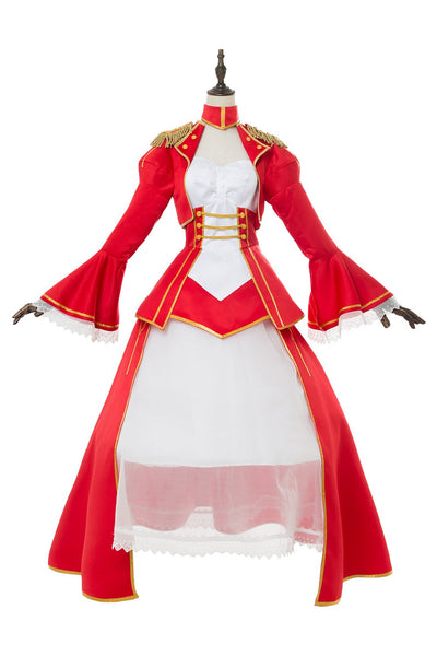 Fate/Extra: Last Encore Nero Saber Cosplay Costume