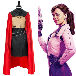 Solo: A Star Wars Story Qi'ra Cape Jacket Cosplay Costume