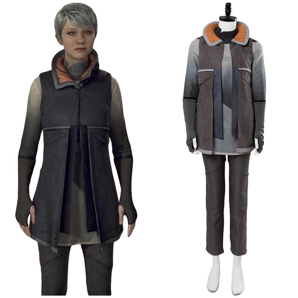 Detroit: Become Human KARA Refugee Uniform Cosplay Costume
