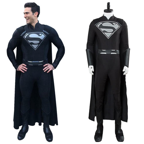 DC Supergirl Manchester Black Outfit Cosplay Costume