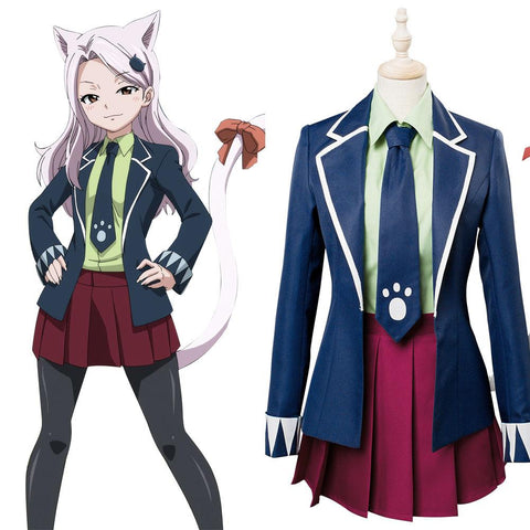 Fairy Tail Final Season Carla Human Cosplay Costume