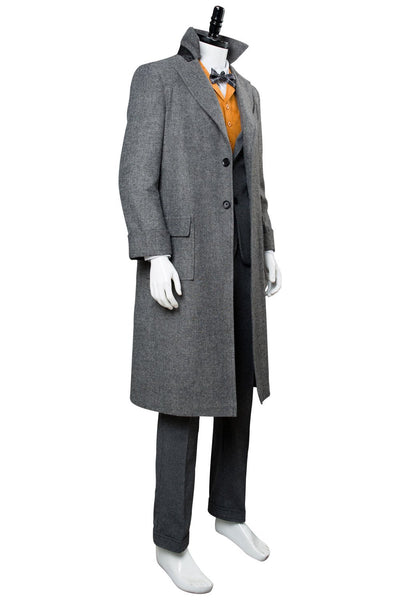 Fantastic Beasts: The Crimes of Grindelwald Newt Scamander Coat Cosplay Costume