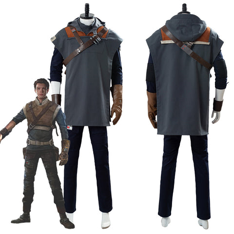 Cal Kestis Costume Star Wars Jedi: Fallen Order Suit Cosplay Costume