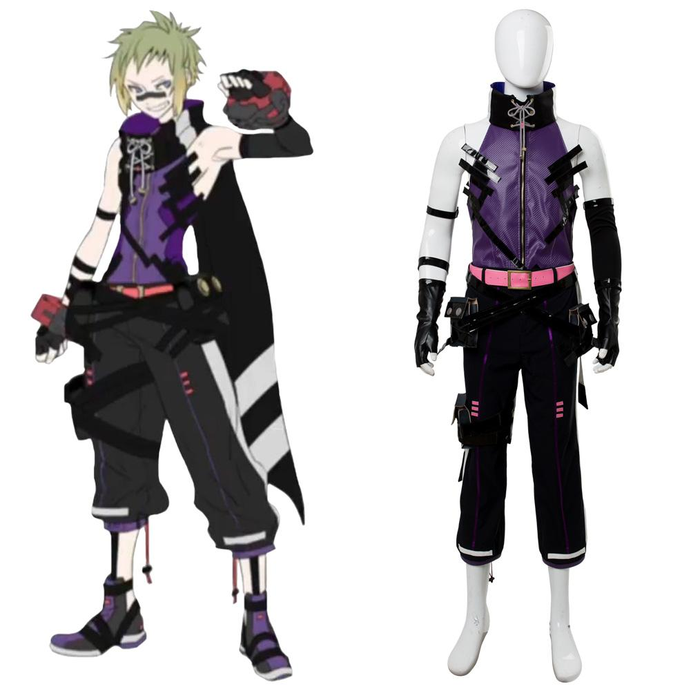 God Eater 3 Zeke Pennywort Outfit Cosplay Costume