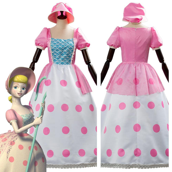 Toy Story 4 Bo Peep Uniform Cosplay Costume