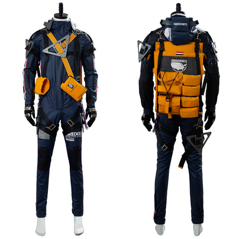 Sam Norman Reedus Death Stranding Uniform Cosplay Costume