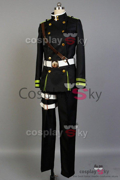Seraph of the End Yoichi Saotome Uniform Cosplay Costume