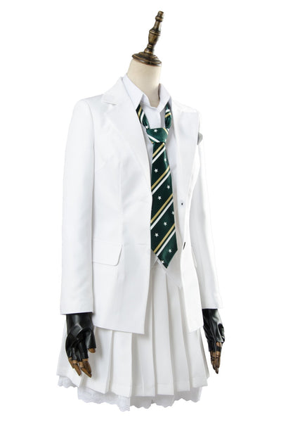 Player Unknow's Battlegrounds White School Uniform Cosplay Costume