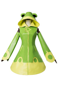 Cardcaptor Sakura 2 CCS 2 Kinomoto Sakura Frog Battle Dress Cosplay Costume