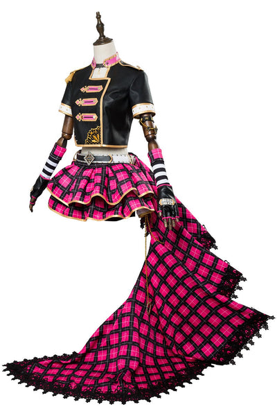 Love Live! Sunshine!! Ruby Kurosawa dress Punk Rock Outfit Cosplay Costume