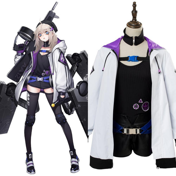 Girls' Frontline AA12 Silverwing Cosplay Costume