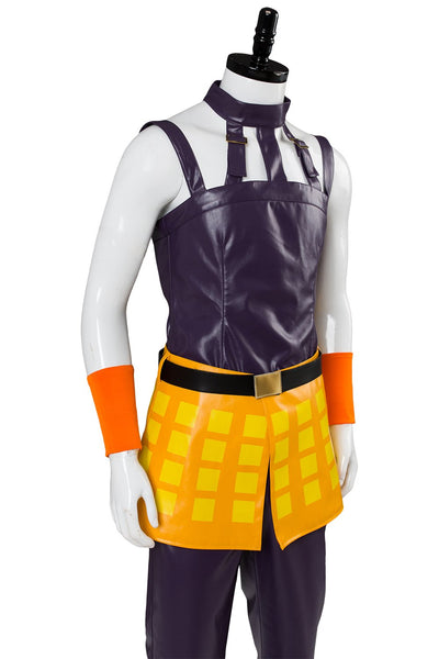 JoJo's Bizarre Adventure: Golden Wind Narancia Ghirga Cosplay Costume