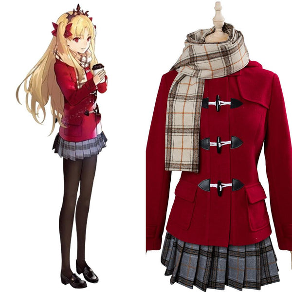 Fate/Grand Order Ereshkigal Winter Caual Wear Cosplay Costume