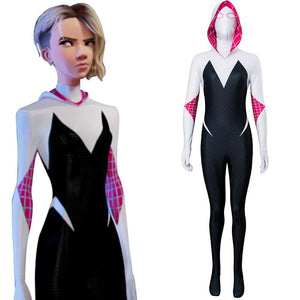 Spider-Man: Into the Spider-Verse Spider-Gwen Cosplay Costume