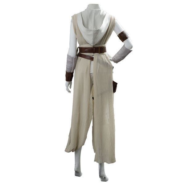 Rey Star Wars:The Rise of Skywalker Outfit Dress Suit Uniform Cosplay Costume