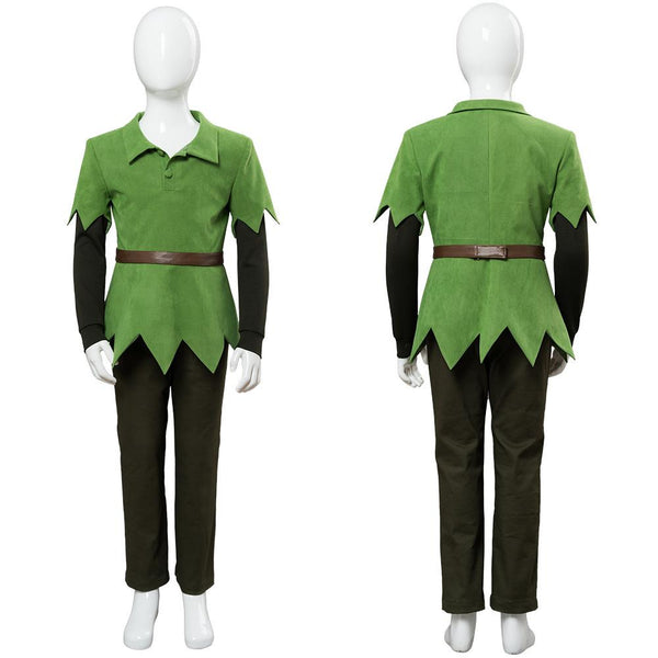 Disney Movie Peter Pan Kids Cosplay Costume