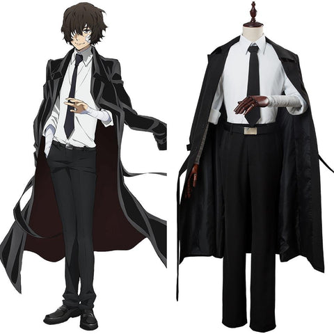 Bungou Stray Dogs season 3 Daizai Osamu Cosplay Costume Coat Only