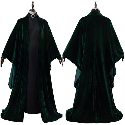 Harry Potter Minerva McGonagall Cloak Cosplay Costume