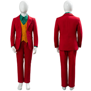Joker Origin Romeo Joaquin Phoenix Arthur Fleck Dress 2019 Cosplay Costume For Kid